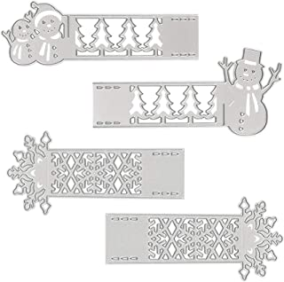 Ancient Warm Family Horse and Camel Rectangle Metal Cutting Dies for Card Making Scrapbooking Embossing Stencil Die cuts Photo Album Paper Card Making Template Art Crafts Card Christmas Gifts Home Gr