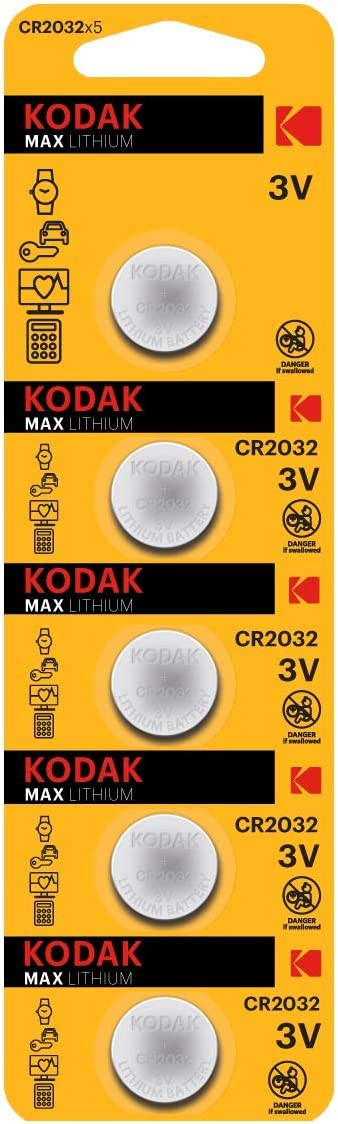 KODAK CR2032 Lithium Button Battery Cell Oakland Mall Pack 5 lowest price