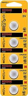 Kodak CR 2032 Lithium Coin Battery- Pack of 5 Batteries