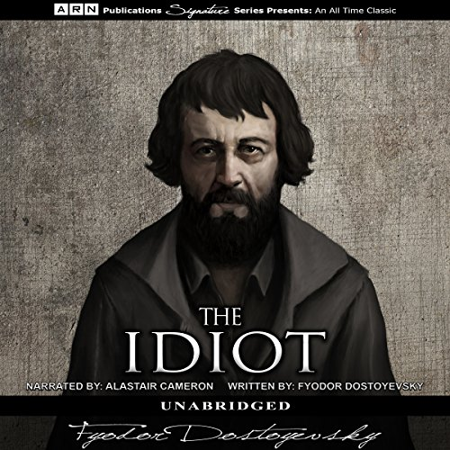 The Idiot audiobook cover art