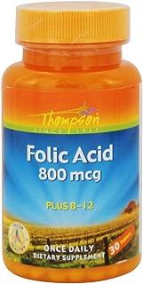 Folic Acid 800mcg Thompson 30 Tabs
