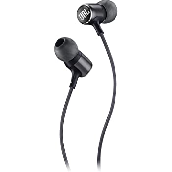 JBL LIVE 100 - In-Ear Headphones with Remote - Black