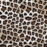 Baumwolljersey 2102 Leopard-Print, Baumwolle Elasthan,