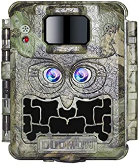 OUDMON Trail Game Camera for Hunting, 30MP 1080P Dual...