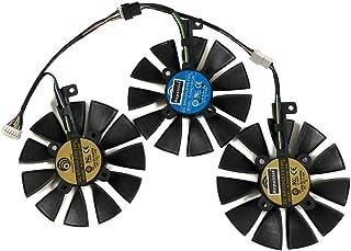 PLD09210S12HH PLD09210S12M GPU グラフィックカードファン ASUS用 GTX1080 GTX 980TI GTX 1070 GTX1080Ti R9-390 R9-390X RX580 RX VEGA STRIX ...
