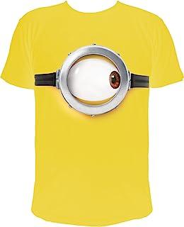 Minions Camiseta Stuart's Eye, Amarillo