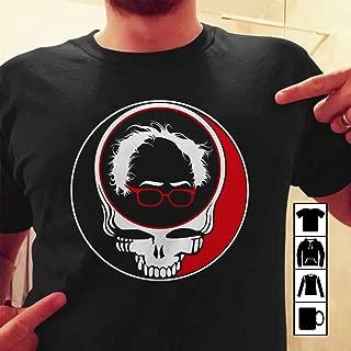 Bernie Sanders Grateful Dead Steal Your Face T Shirt Long Sleeve Sweatshirt Hoodie T-Shirt Long Sleeve Sweatshirt Hoodie for Men and Women