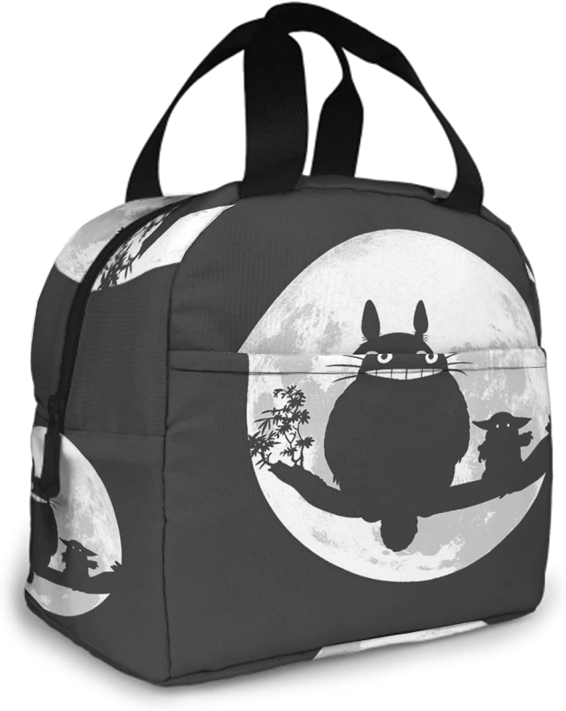 Yunlenb Japan's largest assortment My Neighbor Totoro Lunch Bag Women Portabl Max 73% OFF Proof For Men