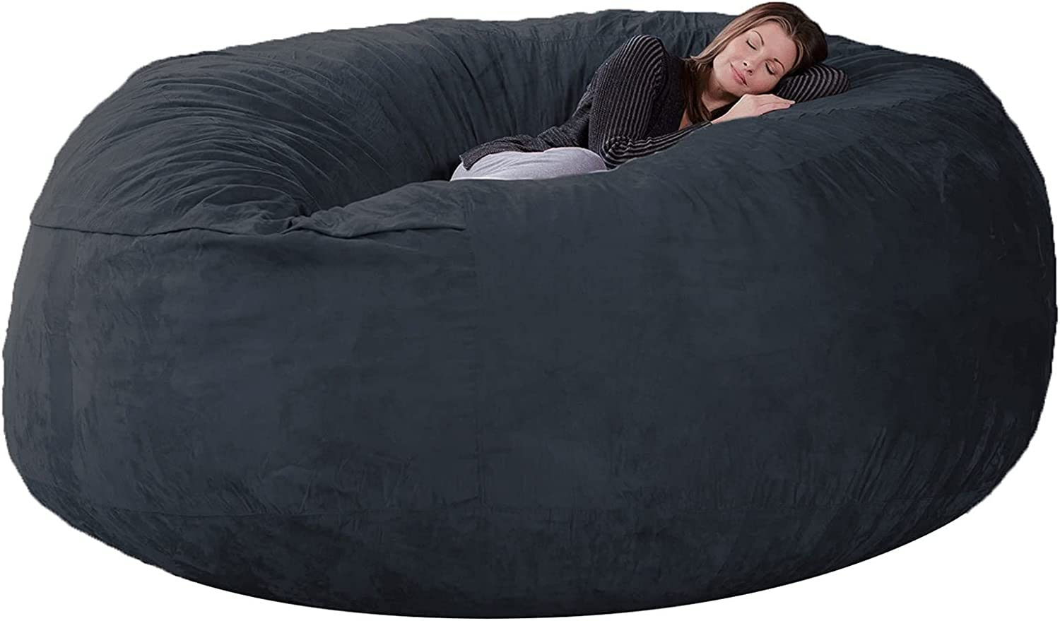 NEW Trust 7ft Bean Bag Cover suede No Fabric Only Fill Insulating