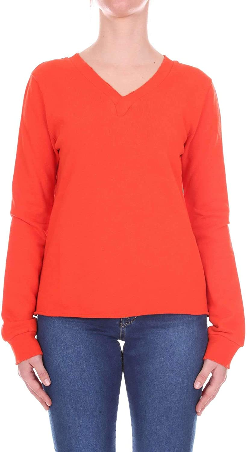 CURRENT ELLIOT Women's 181001931orange orange Cotton Sweatshirt