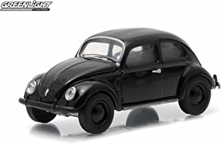 Greenlight 1938 Volkswagen Type 1 Split Window Beetle Black Bandit Collection Series 12 2015 Collectibles Limited Edition 1:64 Scale Die-Cast Vehicle