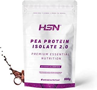 HSN Pea Protein Isolate -   Vegan Protein more than 24g protien and 4.g BCAAs   Sweetened with estevia   Vegan, Lactose Fr...