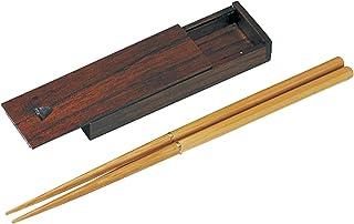 東出漆器 マイジョイント箸(竹)箸箱付 4277