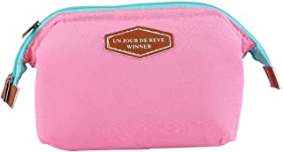 Travel Toiletry Wash Bag Makeup Pouch Sundry Bag Cosmetics Toiletries Organizer for Men and Women Travel Business Bathroom(Pink)