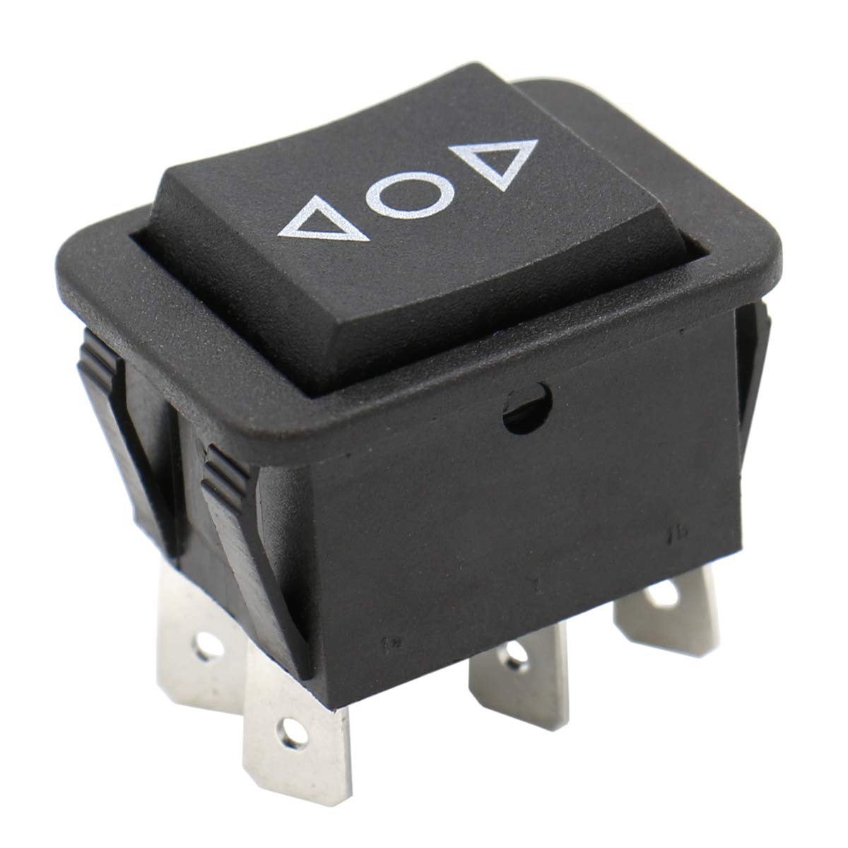 Heschen metal toggle switch SPDT maintained ON//OFF//ON 3 position 15A 250VAC with waterproof cap CE