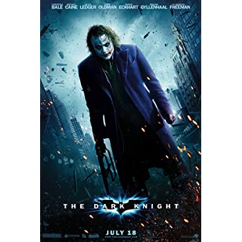 THE DARK KNIGHT Movie PHOTO Print POSTER Film 2008 Batman The Joker Glossy Art 1