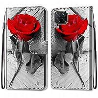 Laybomo Huawei P40 lite ケース カバー 手帳型, [カードスロット]および[キックスタンド]付きの磁気閉鎖完全保護設計ウォレットフリップ 財布型カバー対応 Huawei P40 lite電話ケース, 塗る 4
