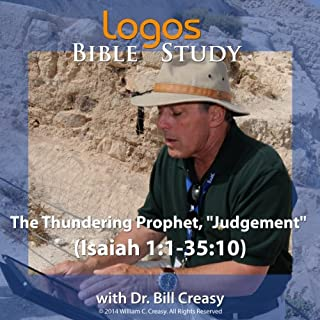 "The Thundering Prophet, ""Judgement"" (Isaiah 1: 1-35: 10) audiobook cover art"