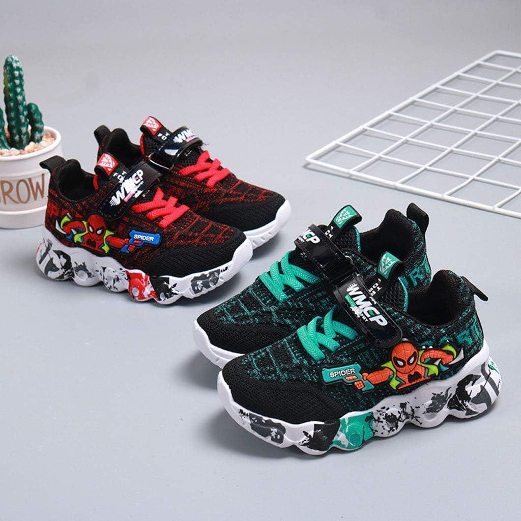 Size:26 yards-16.5 cm,Color:Rojo Zapatillas De Deporte para Ni/ños Ni/ños Livianos Antideslizantes Zapatos De Correr Al Aire Libre Cuerpo De Culturismo Escuela Transpirable Zapatos De Tenis Suave Dura