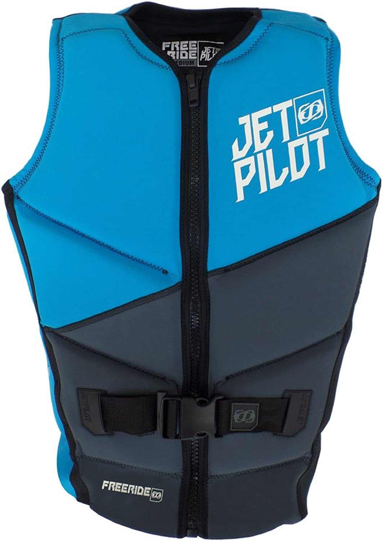 JetPilot Freeride EN ISO 12402-5 50N 50N Neopren Weste - Neopren Wassersportweste, Wakeboardweste, Wasserskiweste, Prallschutzweste B07CPW55WB  Schnäppchen
