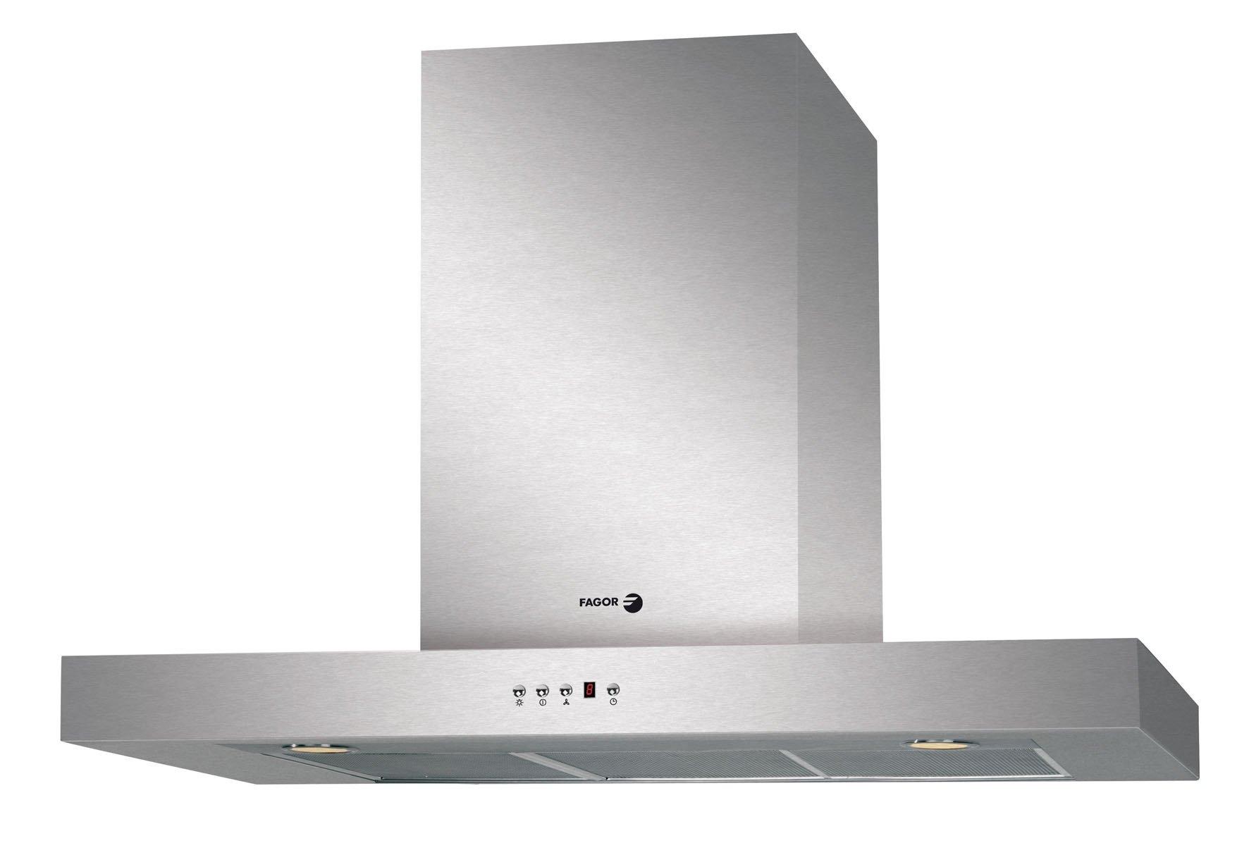 Fagor CFB-90AXA - Campana decorativa 90cm acero inoxidable clase de eficiencia energetic: Amazon.es: Grandes electrodomésticos