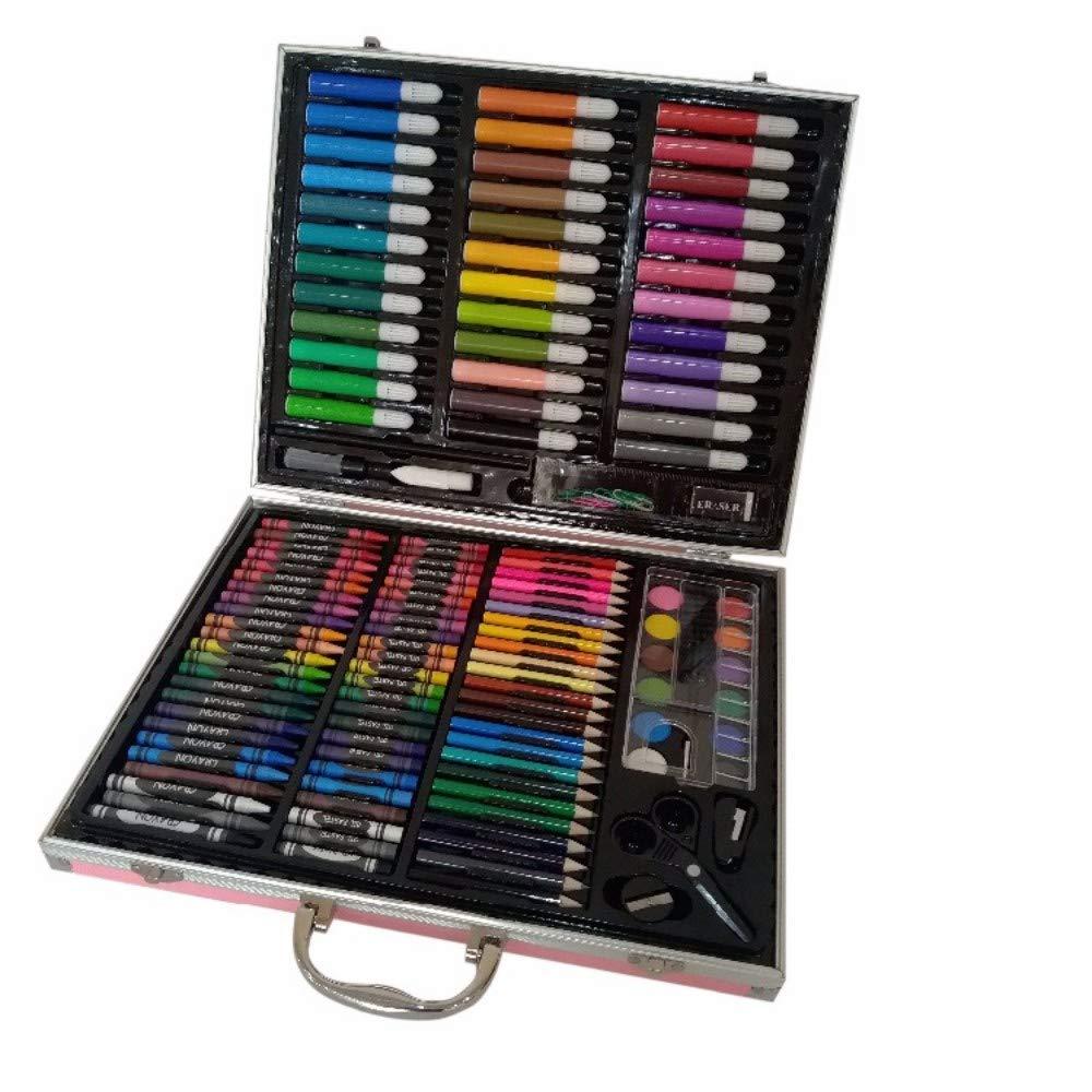 Art JKWL 150 unids. Piezas lápiz Profesional para Colorear Acuarela crayón Pastel Dibujo Color Pluma Conjunto: Amazon.es: Hogar