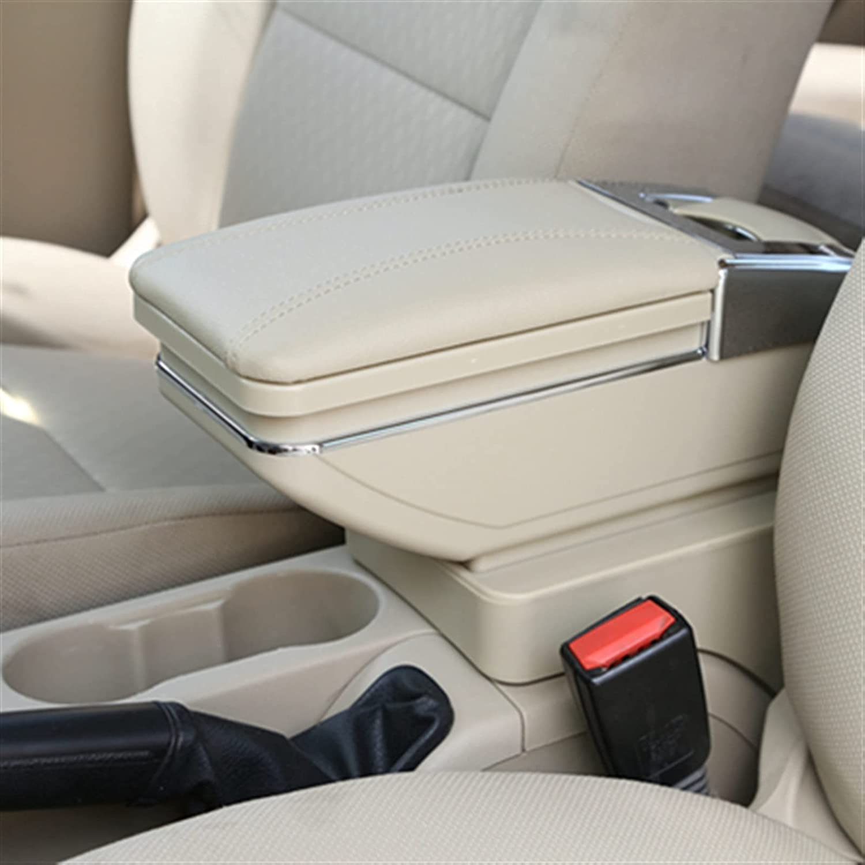 SXYY Armrest Box Centre Console Alternative dealer Storage for VW MK7 Golf Rota Recommended