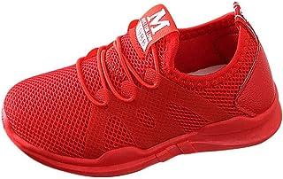 DAY8 Basket Fille Pas Cher Mode Basket Enfants Garçon Sport Running Chaussure Garcon Lacet Automne Mesh Tricot Sneakers Fi...