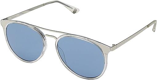 Crystal Silver/Light Blue