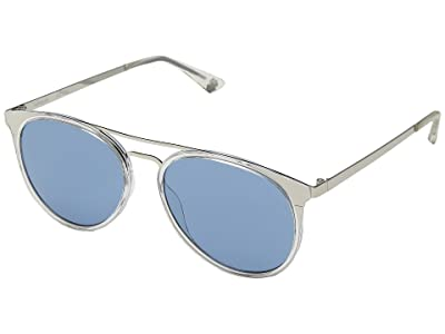 Spy Optic Toddy (Crystal Silver/Light Blue) Fashion Sunglasses