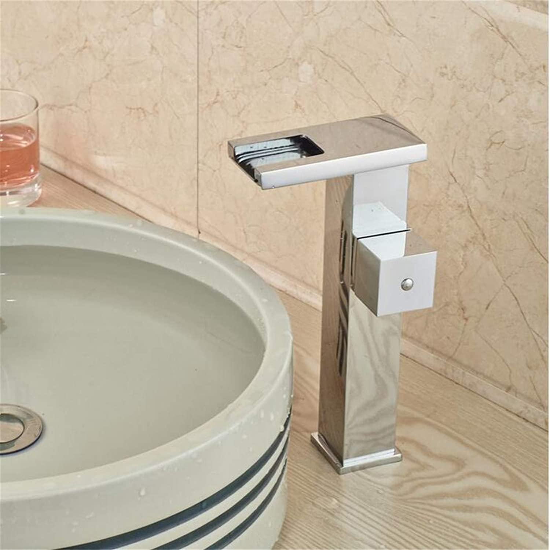 Faucets Basin Mixer Faucet Single Handle Brass Hot Cold Washbasin Mixer Taps