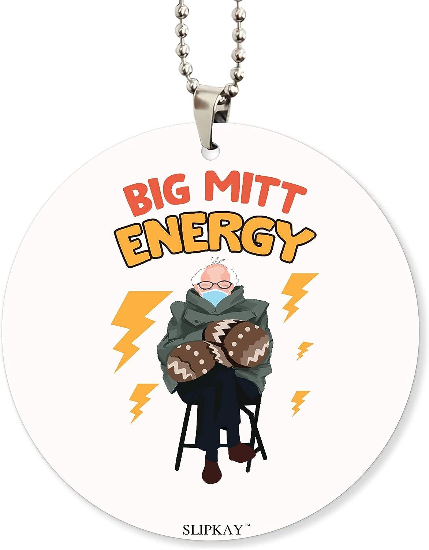 Bernie Mittens Big Mitt Energy Acrylic Car Ornament