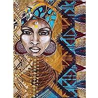 2000ピースジグソーパズル、大人と子供のためのアフリカの部族の女性パズル子供教育玩具-70x100cm