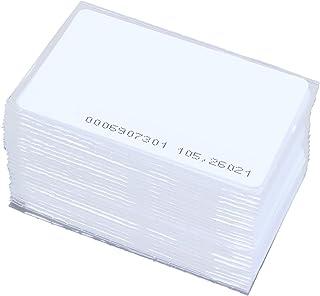Facibom 150 pcs ID Badge Access EM4100 125 kHz RFID