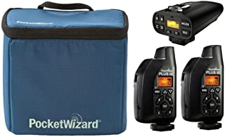 PocketWizard Plus IV/III Bonus Bundle 4: 3 Transceivers and G-Wiz Squared Bag