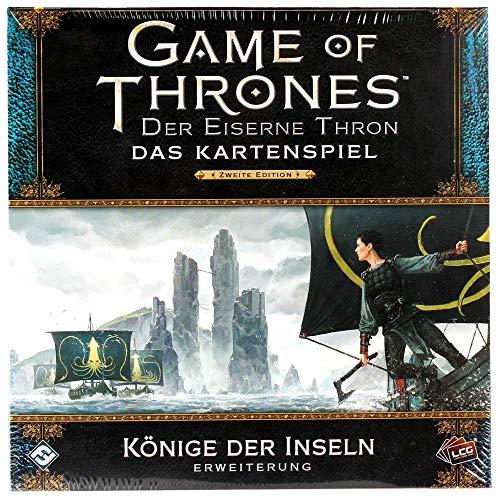 Fantasy Flight Games GoT - Der Eiserne Thron Kartenspiel LCG - Könige der Inseln Erweiterung