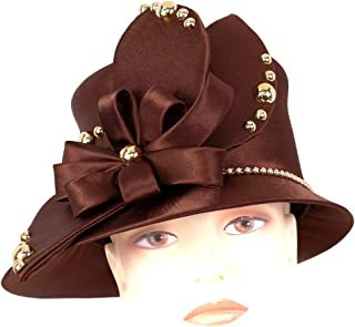 Women's Satin Church Dress Hats - H918