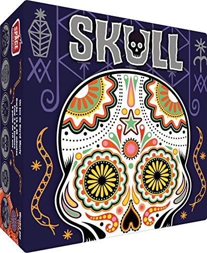 Skull - Asmodee - Jeu de société - Jeu de Bluff