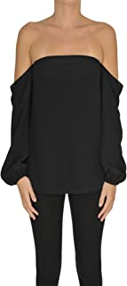 Luxury Fashion | Theory Womens MCGLTPC0000C7090E Black Top | Season Outlet
