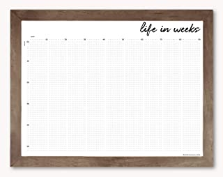 Life in Weeks Calendar, 18