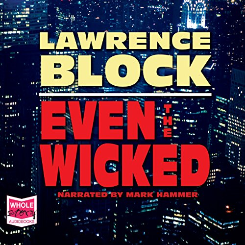 Even the Wicked audiobook cover art