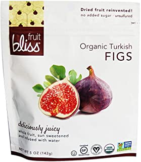 Organic Turkish Figs Dried Fruit Snacks, Sweet, Soft & Juicy Sun-Dried Figs – Healthy Snacks for On the Go – Organic Figs ...
