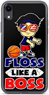 Basketball Floss Like A Boss American Anti-Scratch Clear Case iPhone 6 Plus/6s Plus
