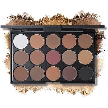 Paleta de sombras de ojos, colores grises.: Amazon.es: Belleza