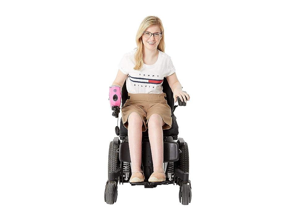 IZ Adaptive Seated Shorts with Yoga Waist (Tan) Women