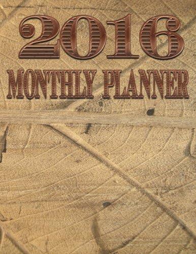 2016 Monthly Planner Organizer Planner 2016 Engagement Planner Calendar Volume 5 product image