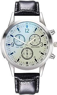 Relojes para hombre de acero inoxidable fecha analógico cuarzo reloj negocios casual moda relojes para hombres