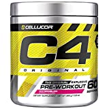 C4 Original Pre Workout Powder Watermelon| Vitamin C for Immune Support | Sugar Free Preworkout Energy for Men & Women | 150mg Caffeine + Beta Alanine + Creatine | 60 Servings