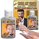 Smell My Finger Hand Sanitizer Gel – 2 oz bottle – Funny Stocking Stuffers – Gag Gifts for Men – Dude Gift – Sanitizers for Guys - Sanitizer by Gears Out