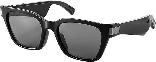 LESHP Smart Wireless Music Bluetooth Sunglasses, Unisex Audio Sunglasses, Polarized Sunglasses, Suitable for Listening to ...